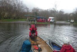 canoeing lake padarn wales00041