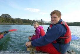 canoeing menai straits wales00023