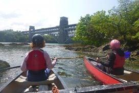 canoeing menai straits wales00029