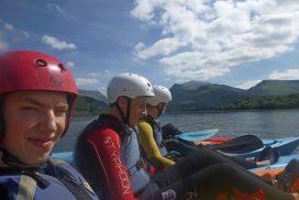 kayak lake Llyn padarn Snowdonia00025