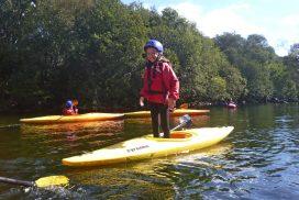 kayak lake Llyn padarn Snowdonia00034