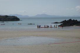 sea kayaking North wales00018
