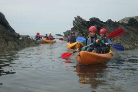 sea kayaking North wales00031
