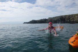 sea kayaking North wales00042