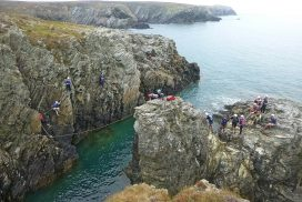sea level traversing Anglesey00020