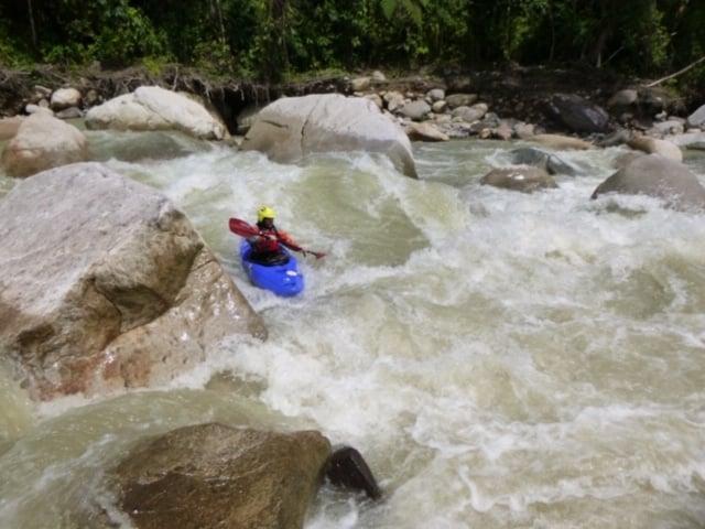 white water kayaking adventure