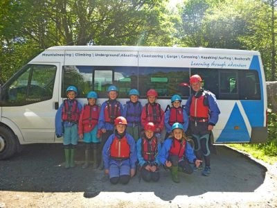Outdoor education courses for Primary, Secondary, College and Youth
