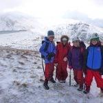 best Winter mountain walking Gwynedd
