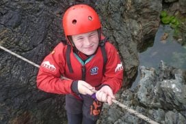 best zip line coasteering activity north wales