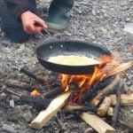 bushcraft firelighting arete activity in North Wales