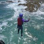 coasteering-cliff-jump-wales uk