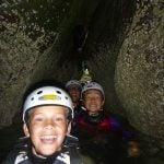 coasteering sea cliffs activity Gwynedd uk