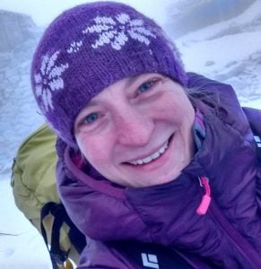 Outdoor Instructor Louise Beetlestone