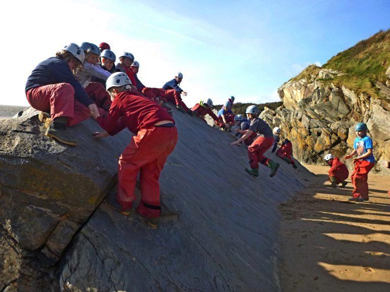 rock climbing for kids Gwynedd