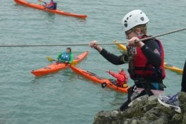 rock climbing for kids north wales
