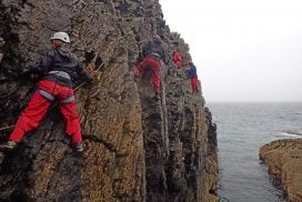 sea level traversing Anglesey uk
