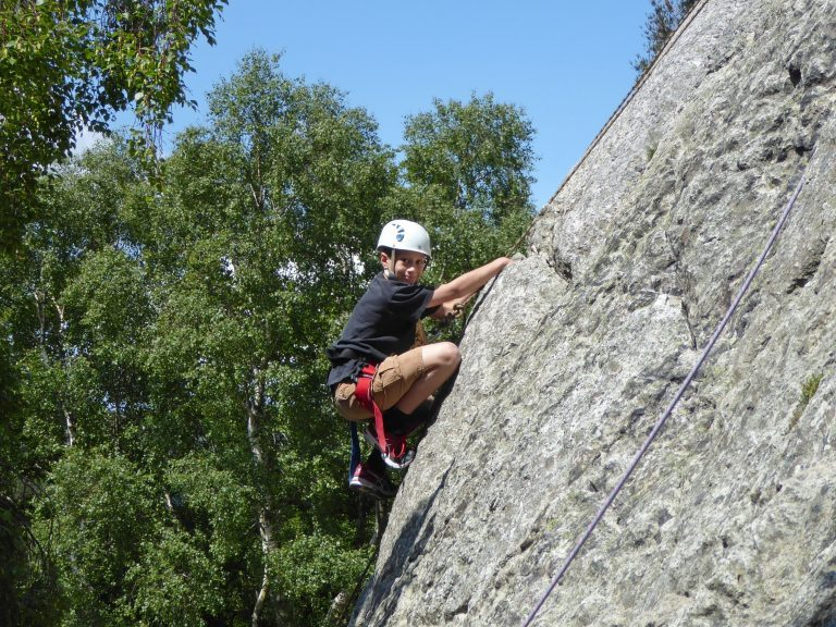 single pitch climbing north wales