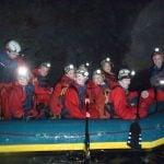 underground cavingmine activity Gwynedd uk