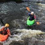 white water kayaking Gwynedd uk