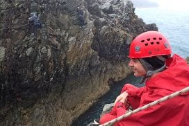 zip line coasteering activity north wales uk