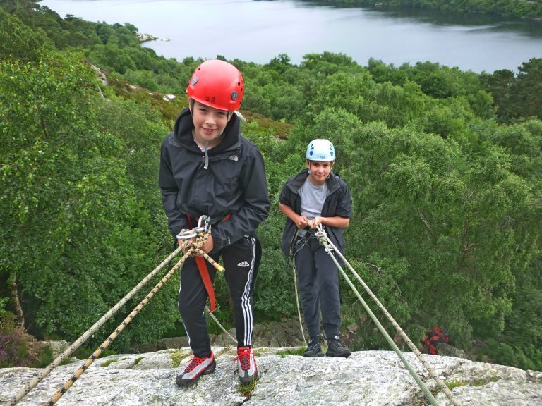 Abseiling Courses activity in the UK
