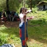 Family Bushcraft activity Camp uk