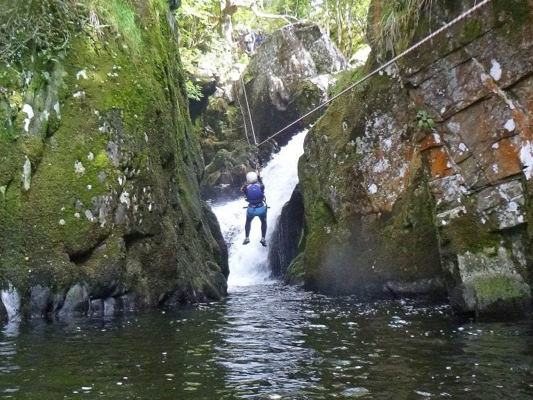 Zip Lines and Abseiling in UK