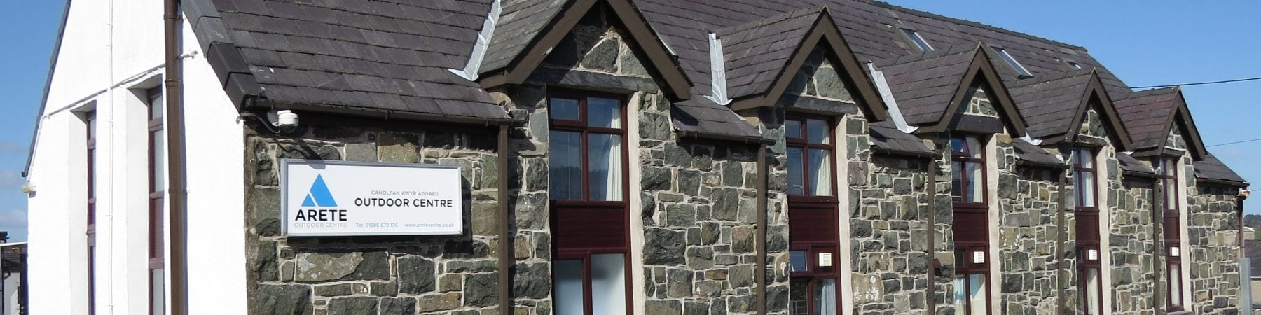 arete outdoor adventure centre accommodation