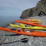 best sea kayaking activity uk