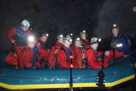 best underground boat ride Snowdonia