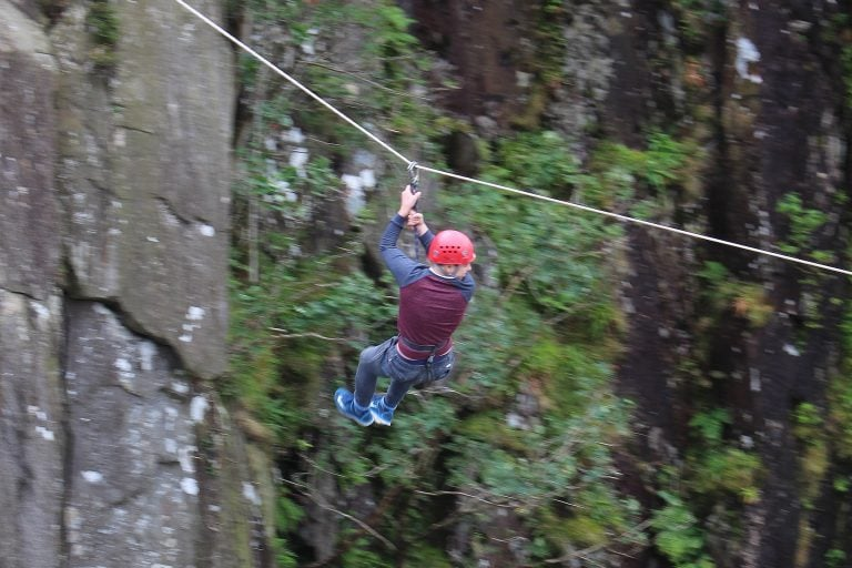 canyoning activity center in north wales