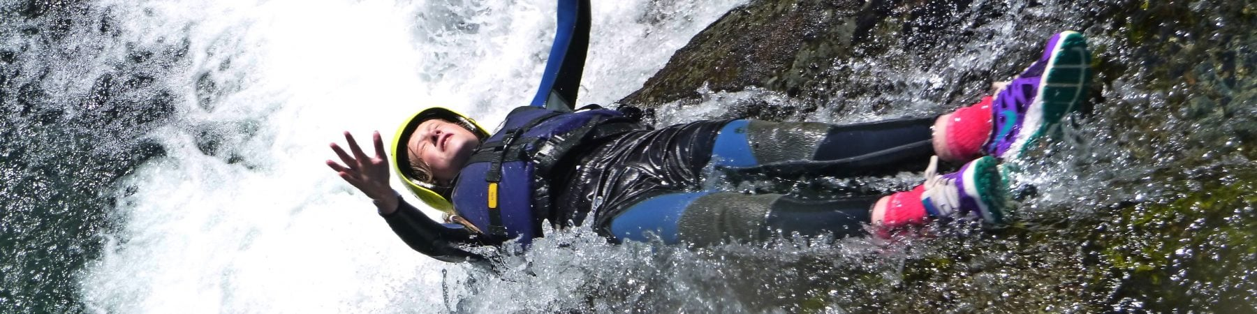 canyoning in wales uk
