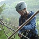 climbing for toddlers North Wales