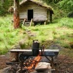 family bushcraft weekend North Wales