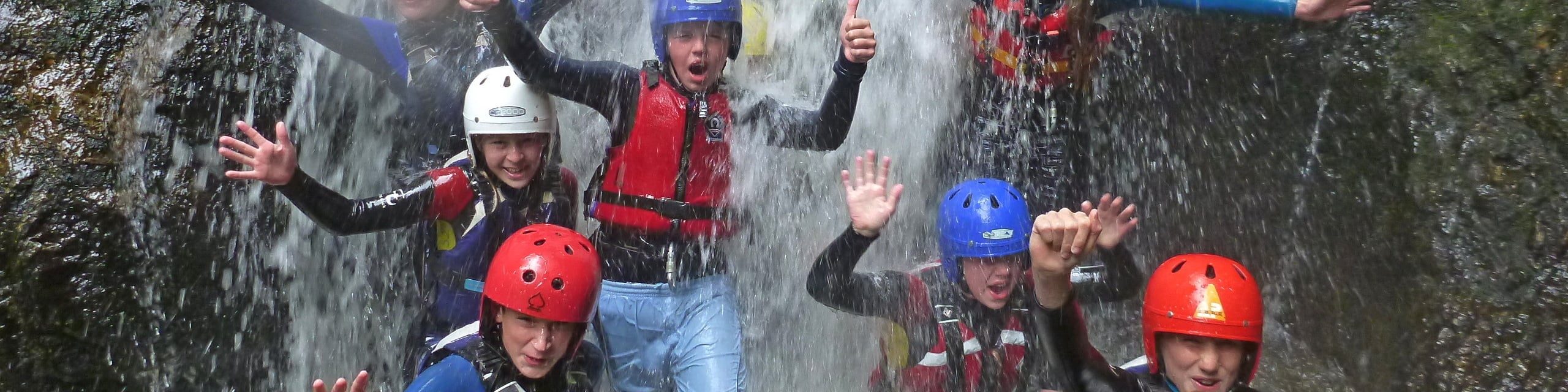 gorge scrambling activity centre north wales