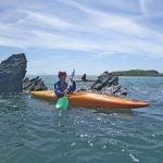 paddling a sea kayak uk