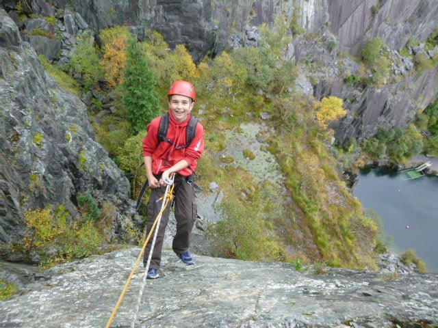 rock climbing instructor course wales
