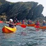 sea kayaking for beginners uk