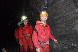 underground caving mine Midlands