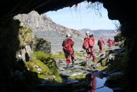 underground mines clip lines Gwynedd