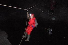 underground mining climbing Gwynedd