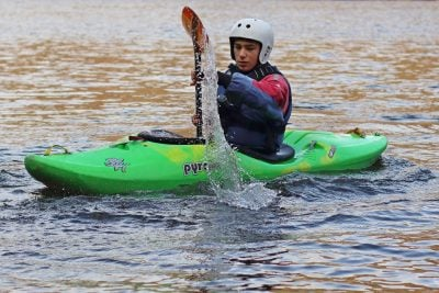 white water kayaking near me