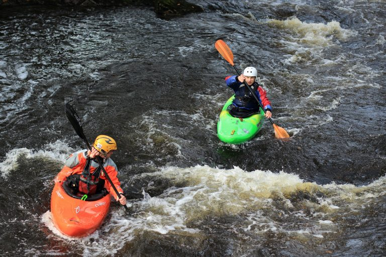 white water kayaking residential trips snowdonia
