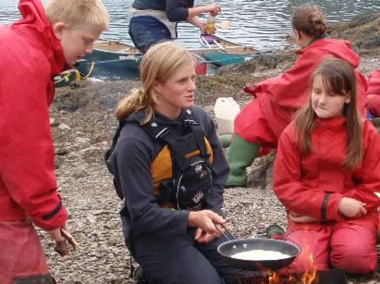 Bushcraft Courses for Schools kids uk