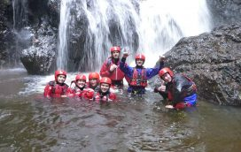 Plunge Pool, Gorge Scramble in Snowdonia