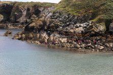 Rock Scrambling north wales uk