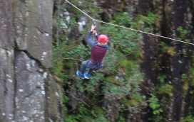 Zip Lines and Abseiling in Gwynedd UK
