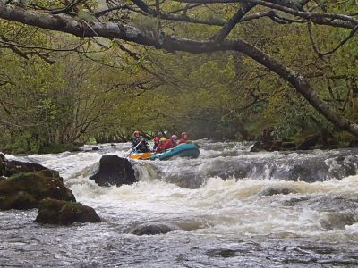 adventure activities of white water north wales