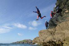 best Coasteering cliff activity in north wales uk
