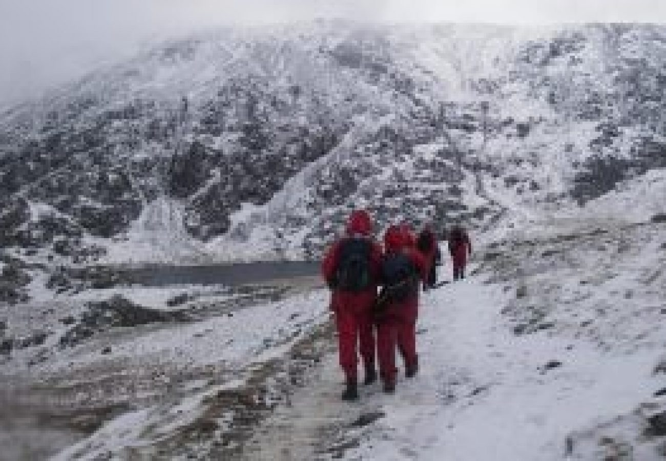 best Winter mountain walking Anglesey